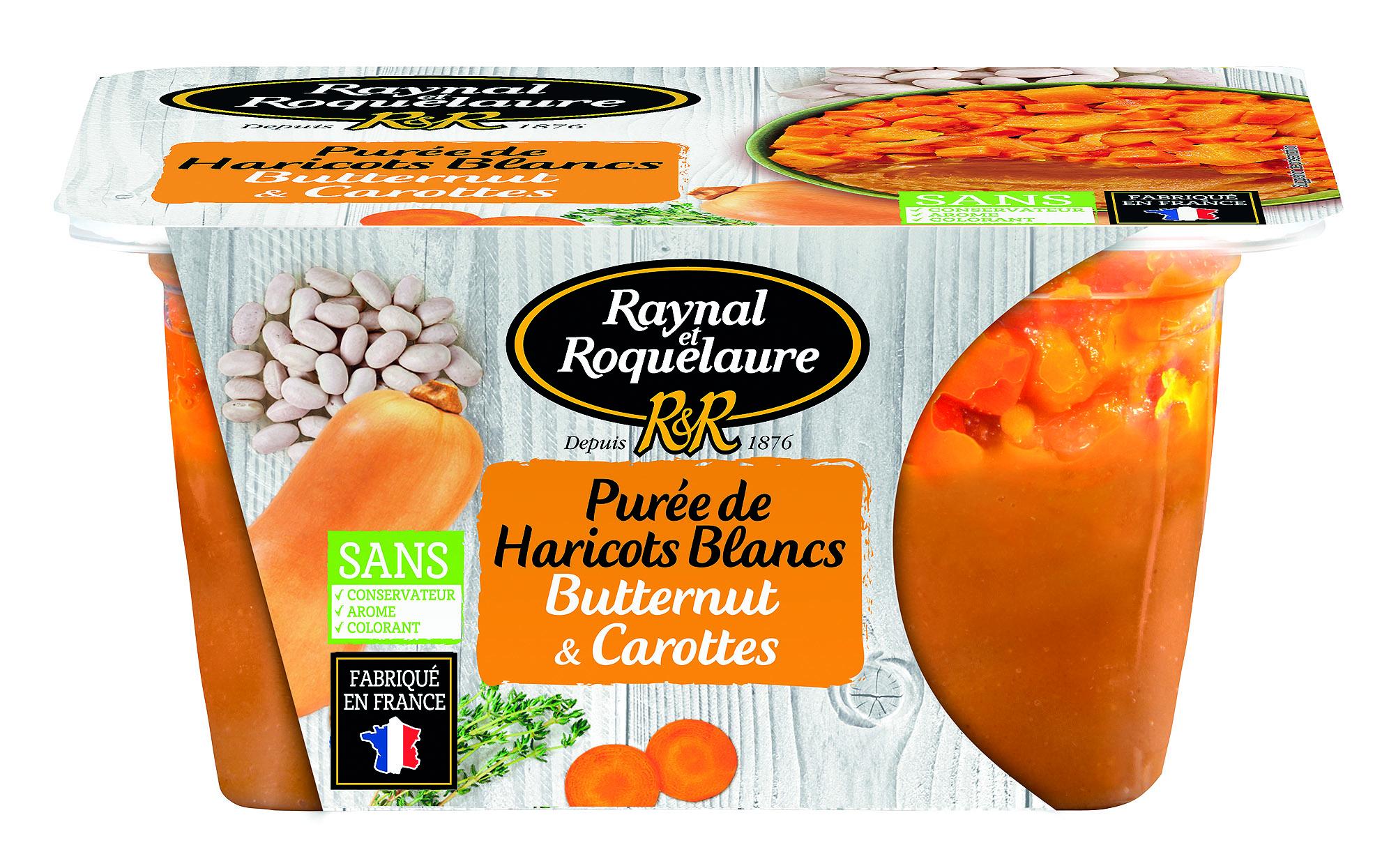 3021690028249 boite transp puree haricots 300 - Raynal et Roquelaure mise sur la transparence pour réinventer ses conserves
