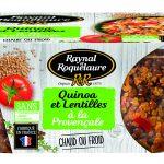 3021690028256 boite transp quinoa lentilles 300 150x150 - Raynal et Roquelaure mise sur la transparence pour réinventer ses conserves