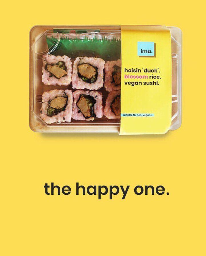 380783 2 800 - Des sushis avec du saumon à base de plantes