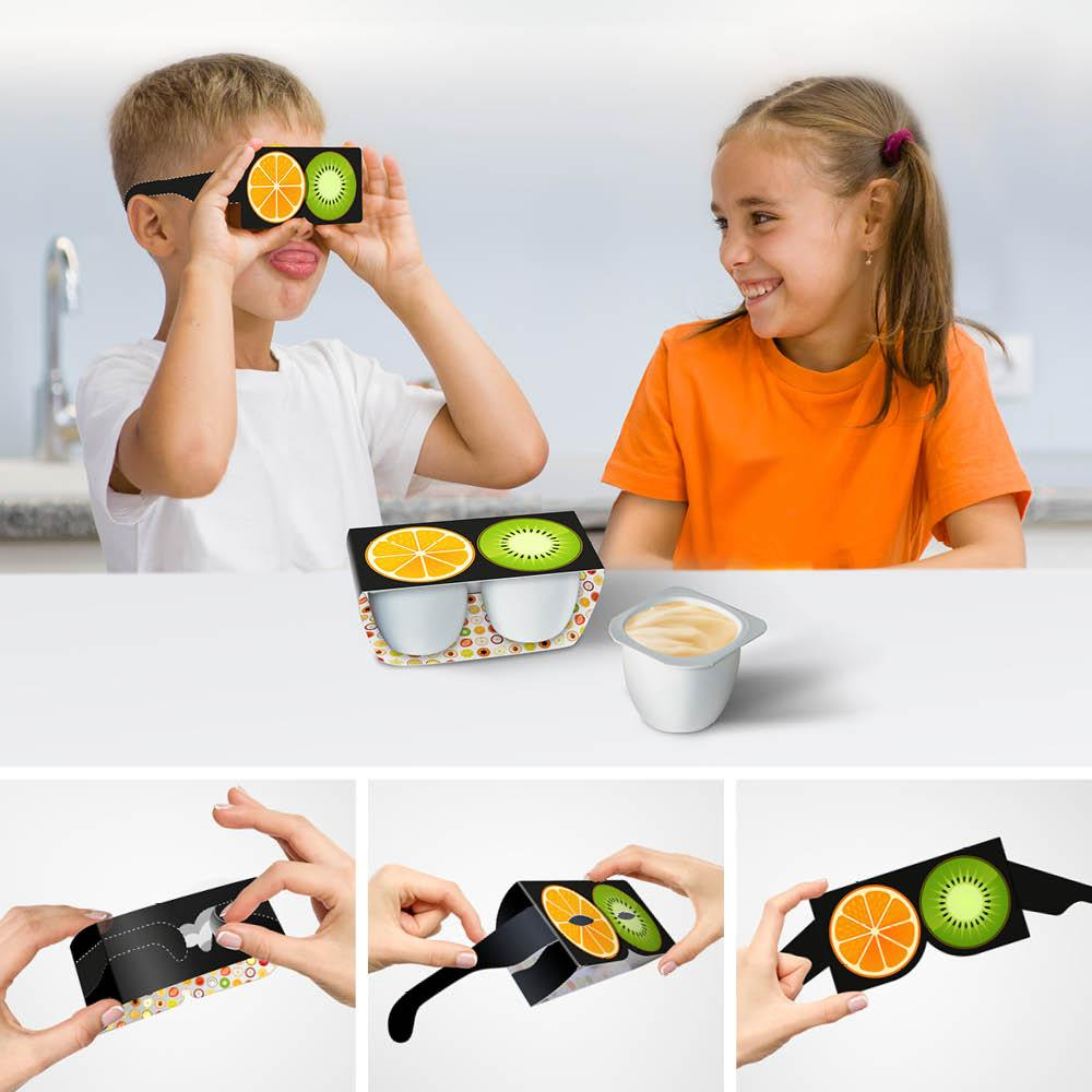 "4jba - Innovation packaging : ""Fruit Glasses"" (Suède)"