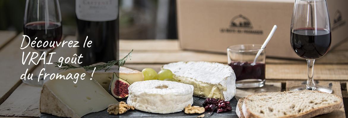 Bandeau page abonner - La boîte du fromager : le plaisir du meilleur des fromages