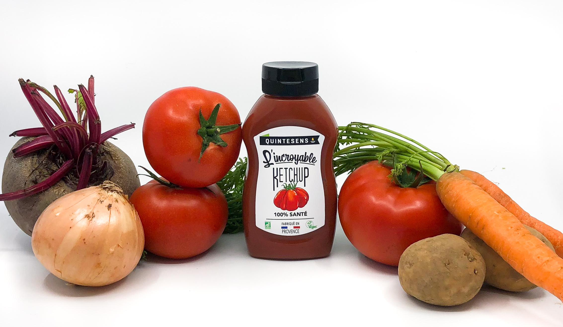 """IMG 0455 2 - """"L'incroyable ketchup"""", le premier ketchup 100% santé et 100% bon"""