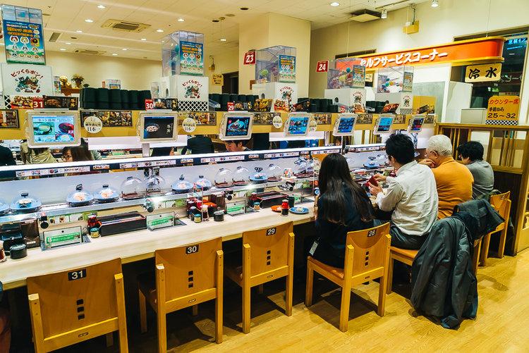 KURASUSHIwww.thetravelpockets.com  - Un restaurant complètement géré par des robots