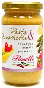 Pasta Bruschetta ASPERGES TOMATE PARMESAN 153x300 - Interview de Roberto Mengozzi fondateur d'Ital Passion