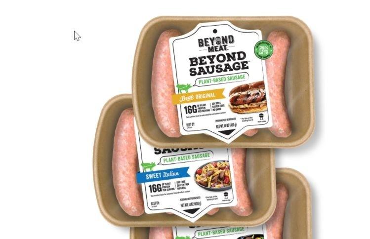 Plant based Beyond Sausage rolls out to Whole Foods stores nationwide wrbm large - La marque de viandes végétales, Beyond Meat, passe à la vitesse supérieure