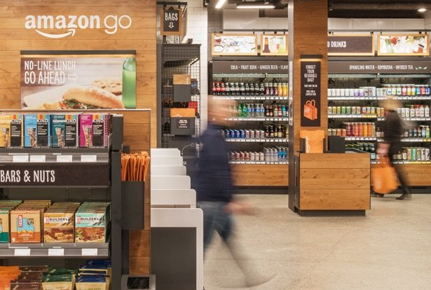 amazon go image magasin - Amazon déploie ses magasins sans caisse Amazon Go