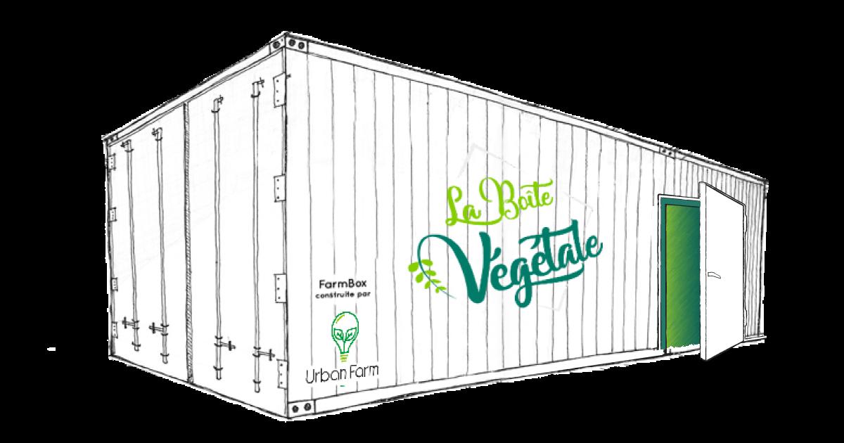 container LBV V4 - Les fermes urbaines de La Boîte Végétale