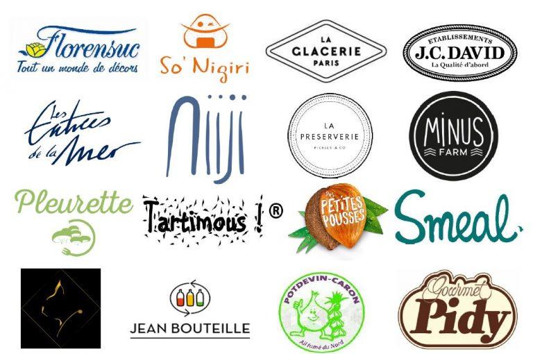 logos finalistes 768x510 - Les finalistes du Concours FOOD CREATIV 2018