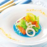384606 3 800 150x150 - Une sauce salade couleur bleue océan