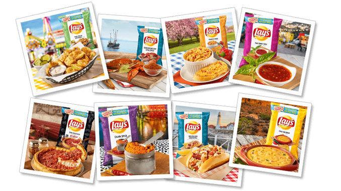 384786 1 800 - Lay's propose des saveurs inspirées de recettes régionales américaines