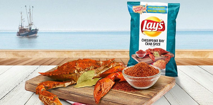 384786 7 800 - Lay's propose des saveurs inspirées de recettes régionales américaines