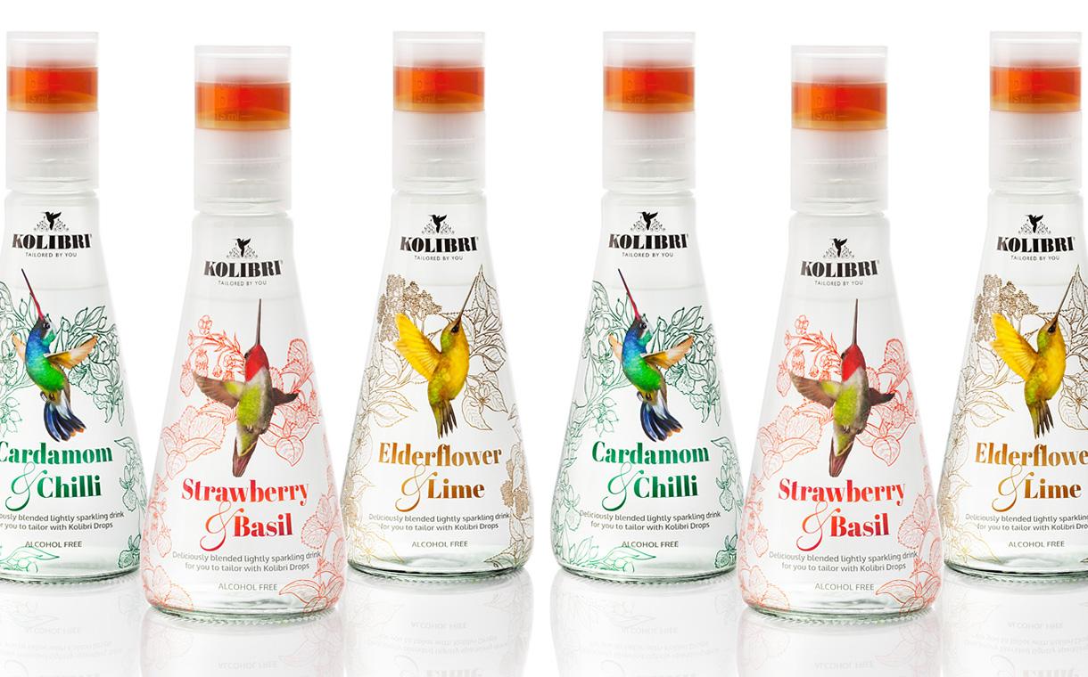 Kolibri 3 - La boisson qui isole le sucre dans son bouchon pour une dégustation personnalisée