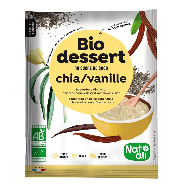 bio d - Crème BIO DESSERT : la nouveauté bio, vegan et sans gluten de NATALI
