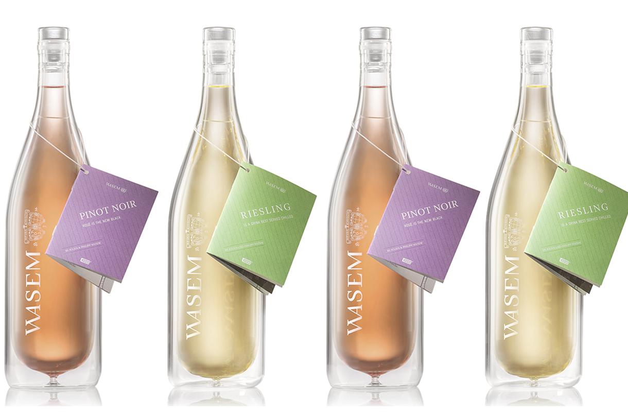 cooleo final - La première bouteille de vin qui garde la bonne température