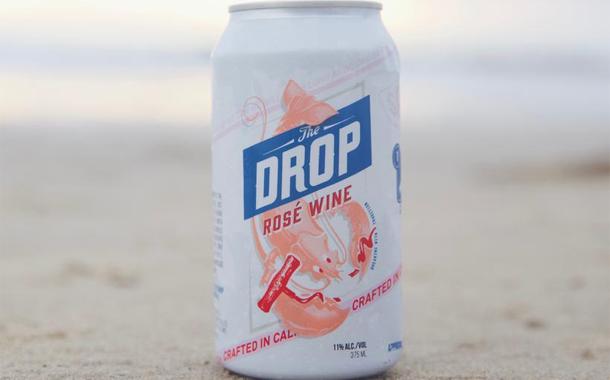 drop - Une canette de vin qui se referme