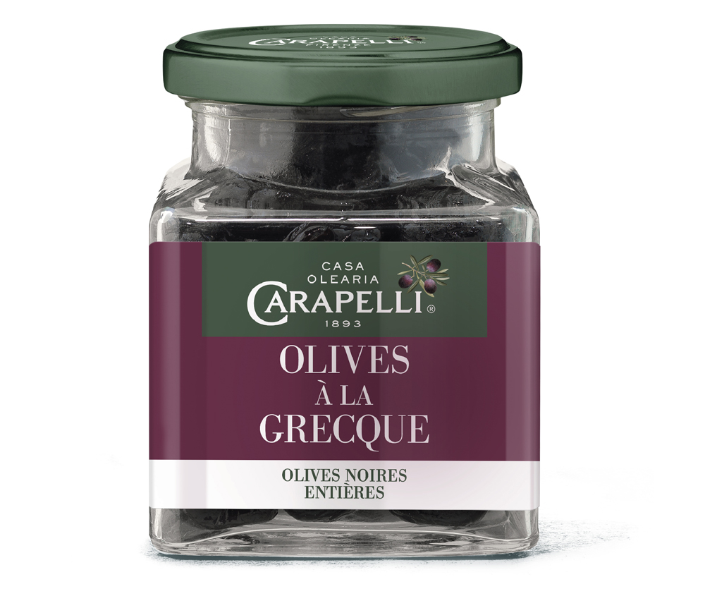 grec - Carapelli propose ses olives aromatisées pour l'apéritif