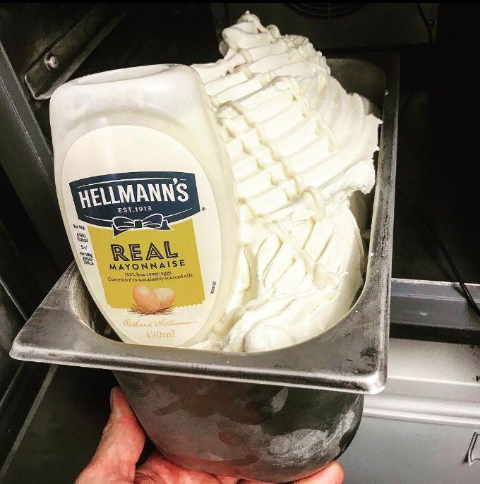 ice falkirk - De la glace à la mayonnaise