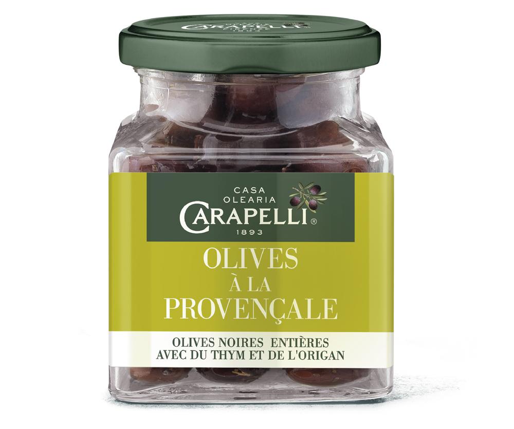 provence - Carapelli propose ses olives aromatisées pour l'apéritif