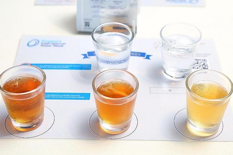 recycled water beer - Une bière réalisée à partir d'eau recyclée