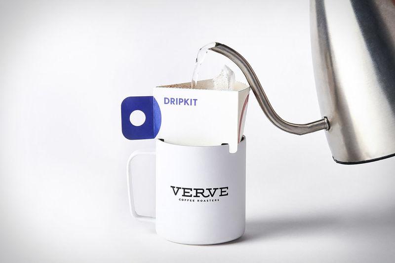 verve and dripkit - Un sachet innovant pour faire son café en nomadité