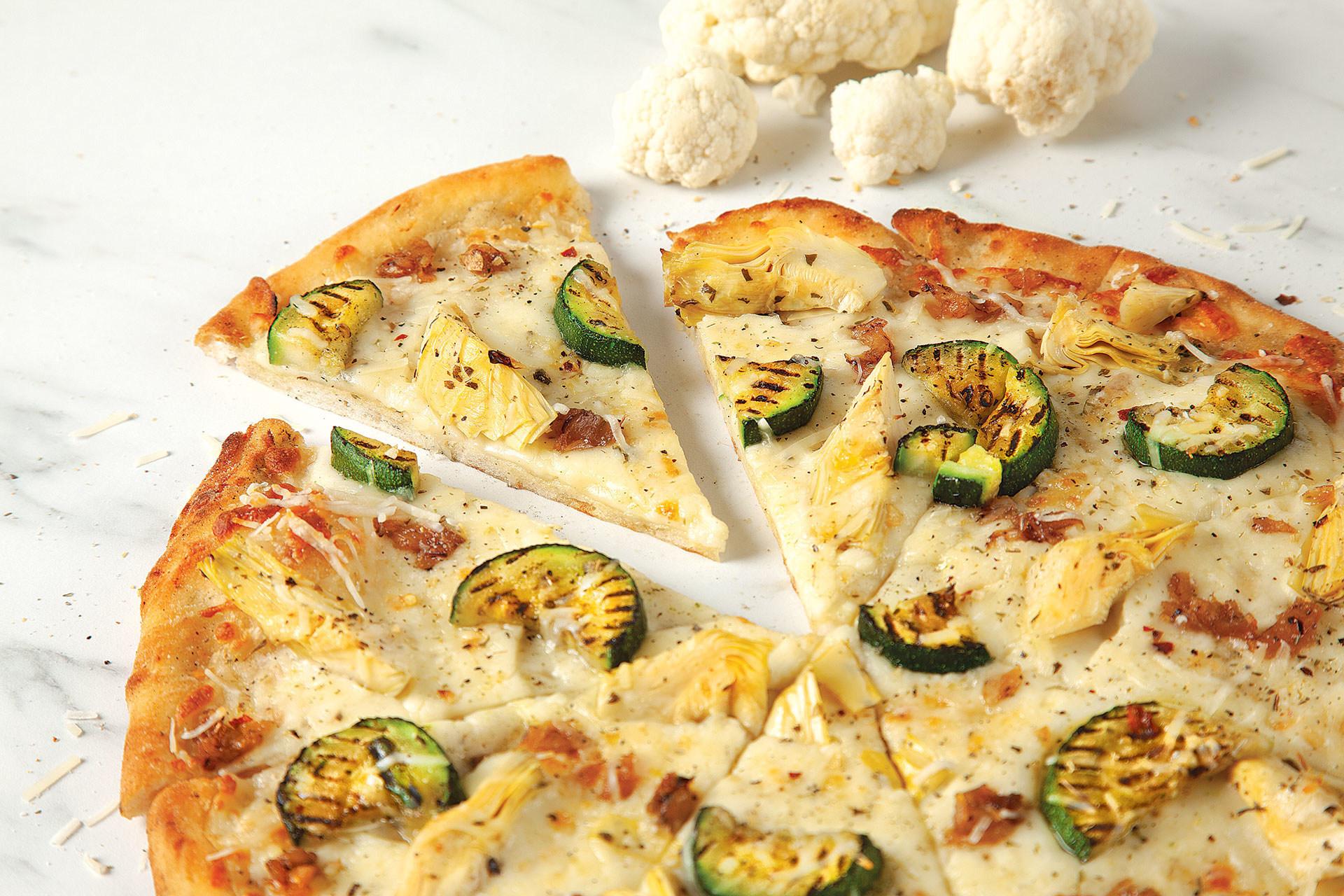 1 - Une pâte de pizza à base de chou-fleur pour les canadiens