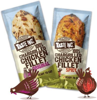 2 - Des sachets de poulet pour le sac à dos