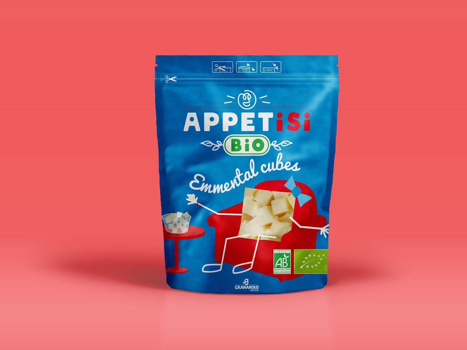 2Appetisi project - APPETiSi, des cubes de fromages design