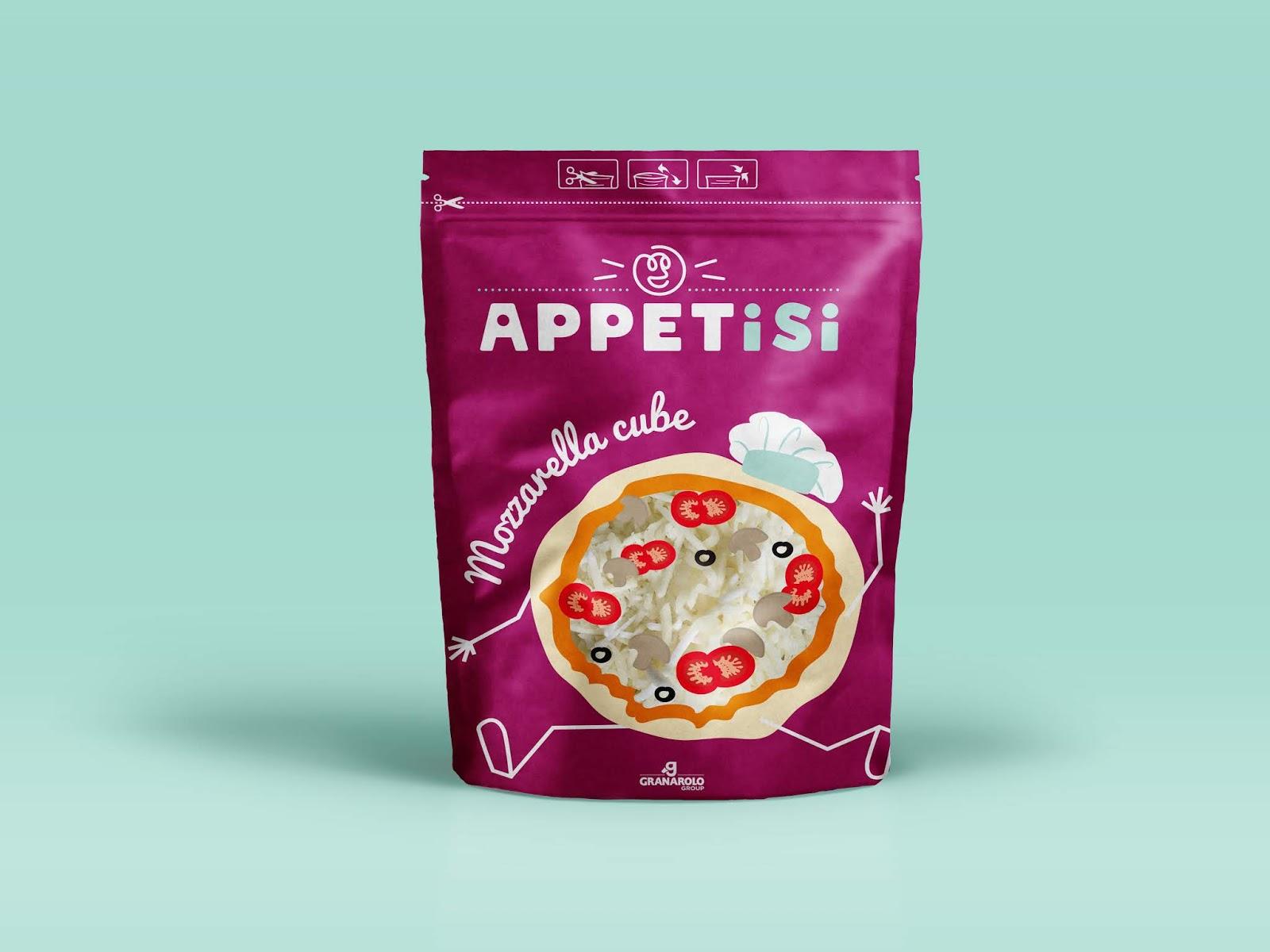 3Appetisi project - APPETiSi, des cubes de fromages design