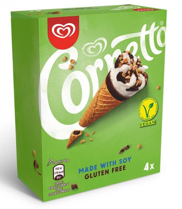 526411871 vegancornetto 698x800 - Unilever propose une version sans lait de ses glaces Magnum