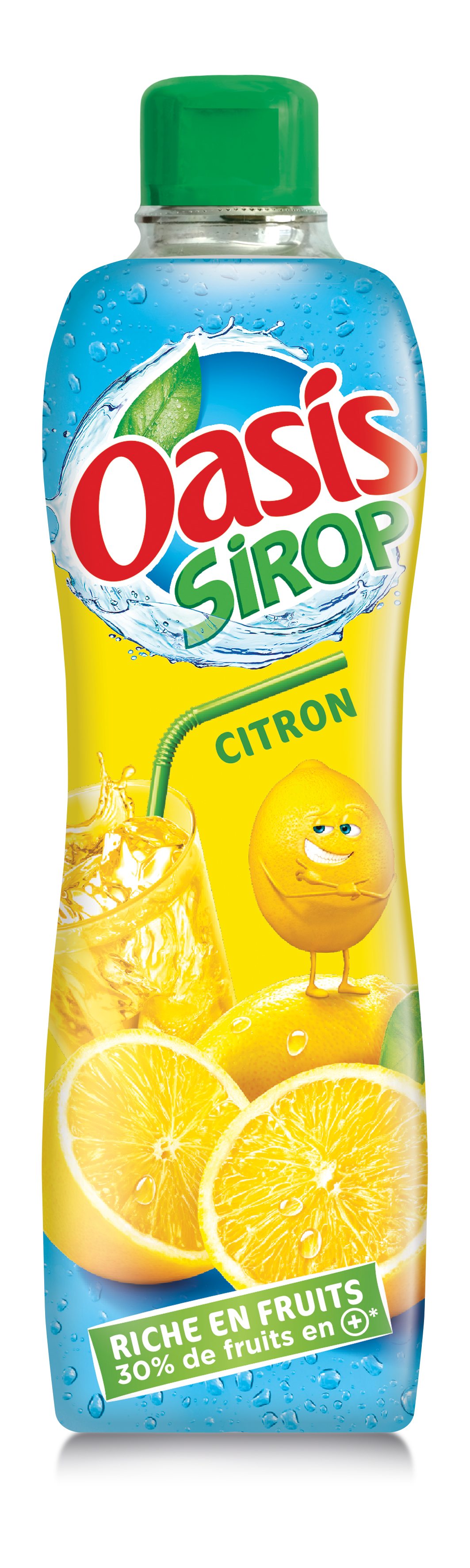 Citron - Oasis lance sa première gamme de sirops