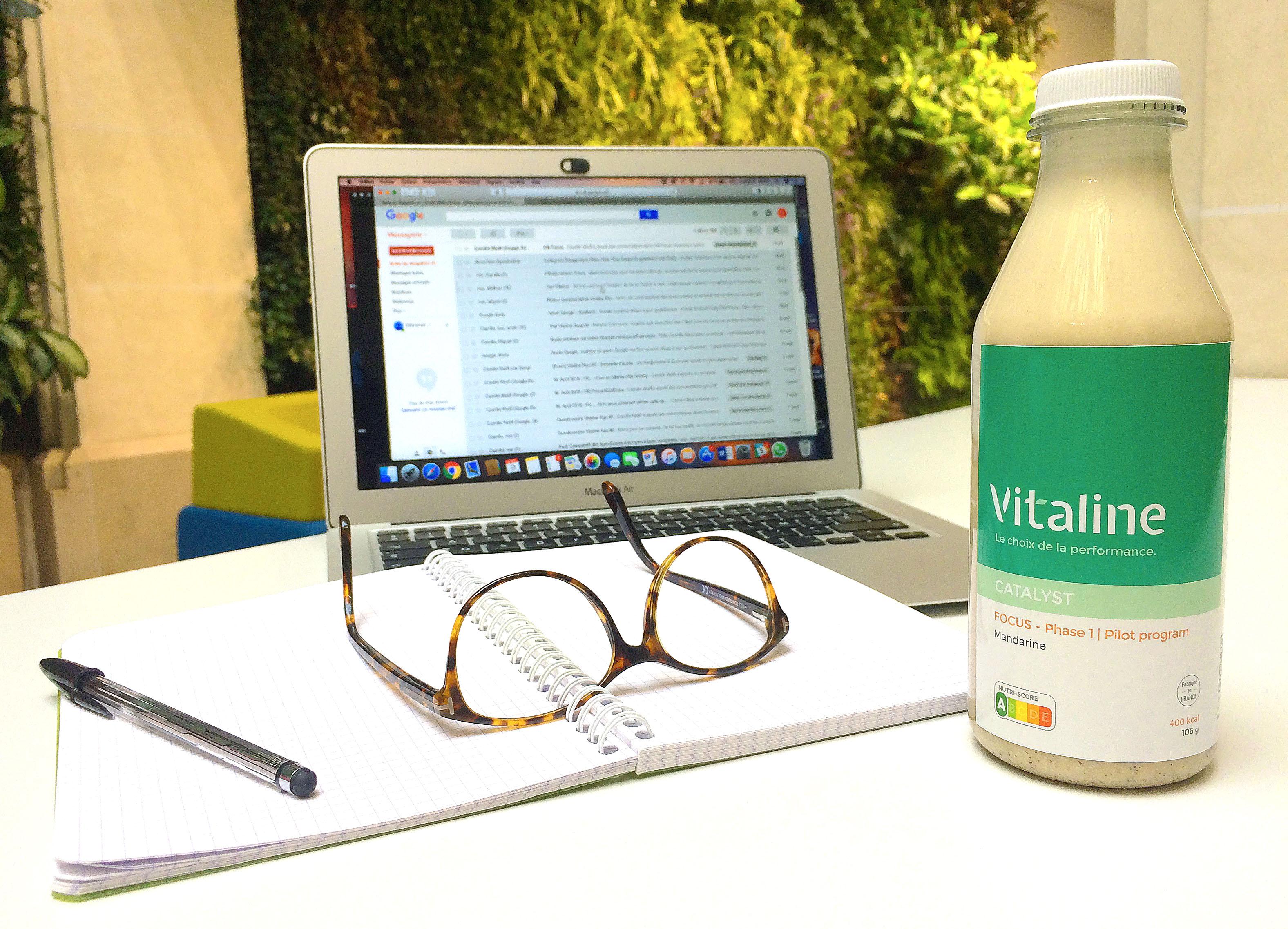 Focus v1 - Vitaline Focus, un encas pour être plus performant intellectuellement