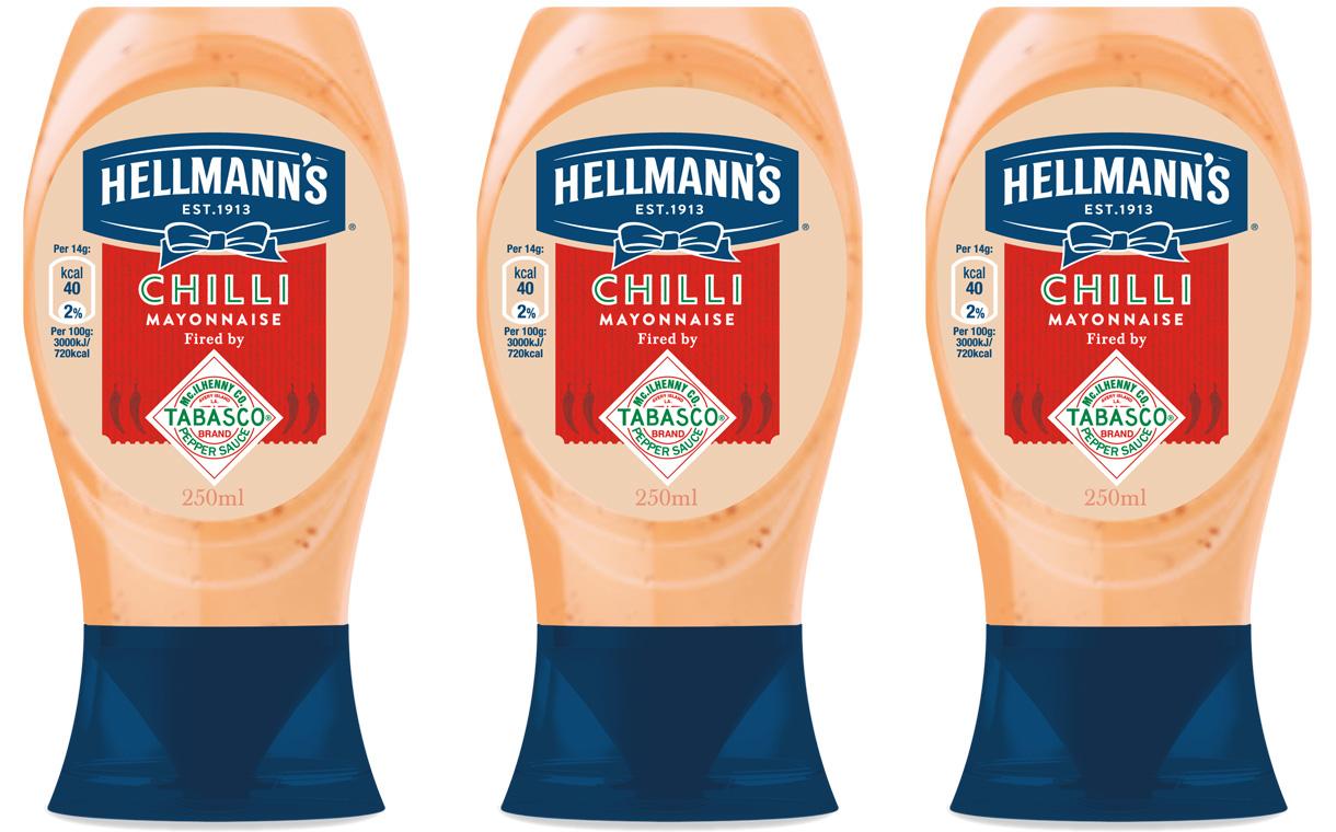 Hellmanns - Une nouvelle mayonnaise au Tabasco
