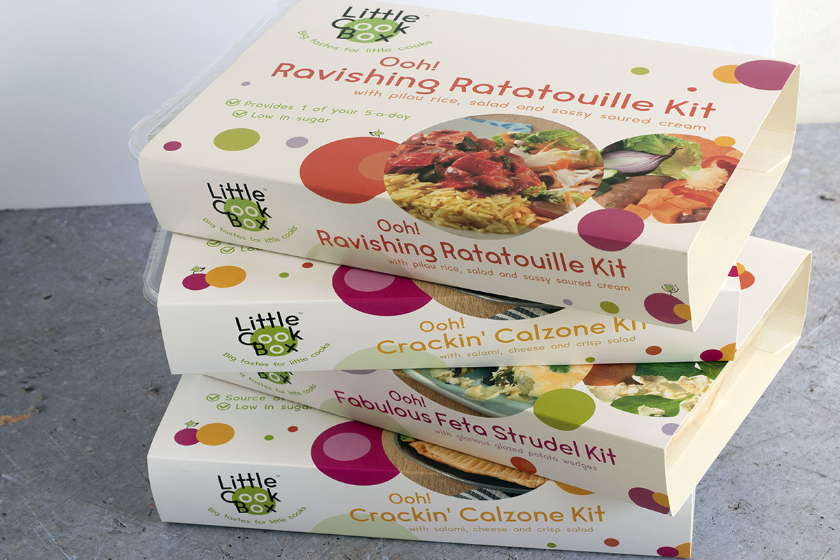 Little Cook Box cooking kits for kids - Des kits à cuisiner pour les enfants