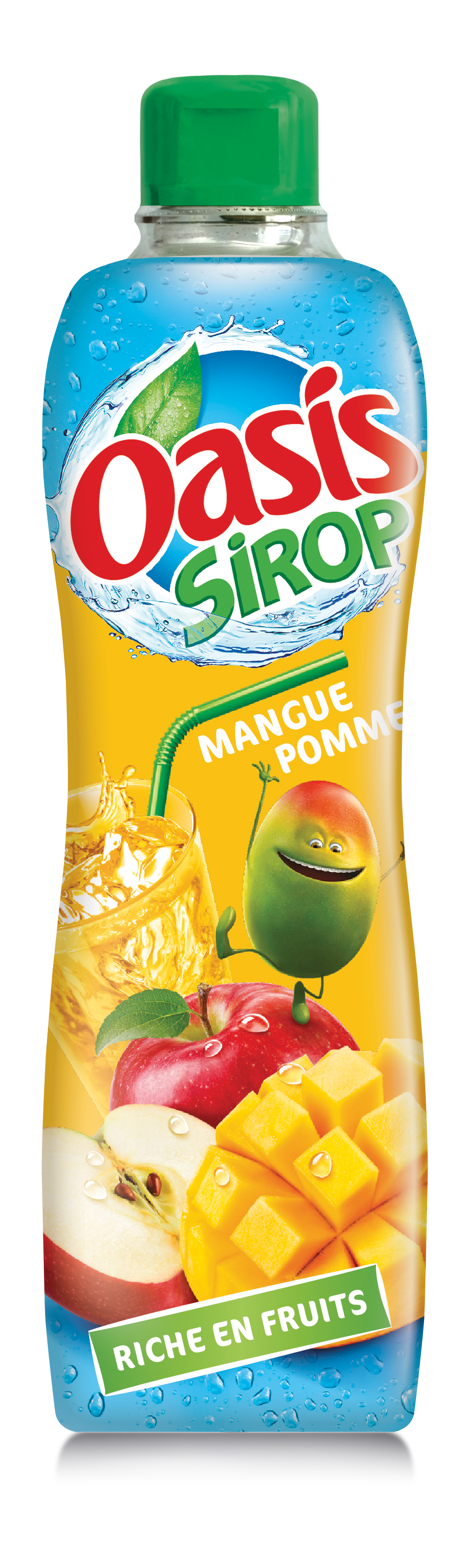 Mangue pomme - Oasis lance sa première gamme de sirops