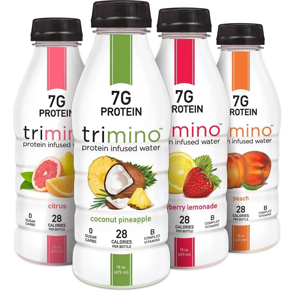 Trimino Brands - Nouvelle tendance boisson : les eaux protéinées