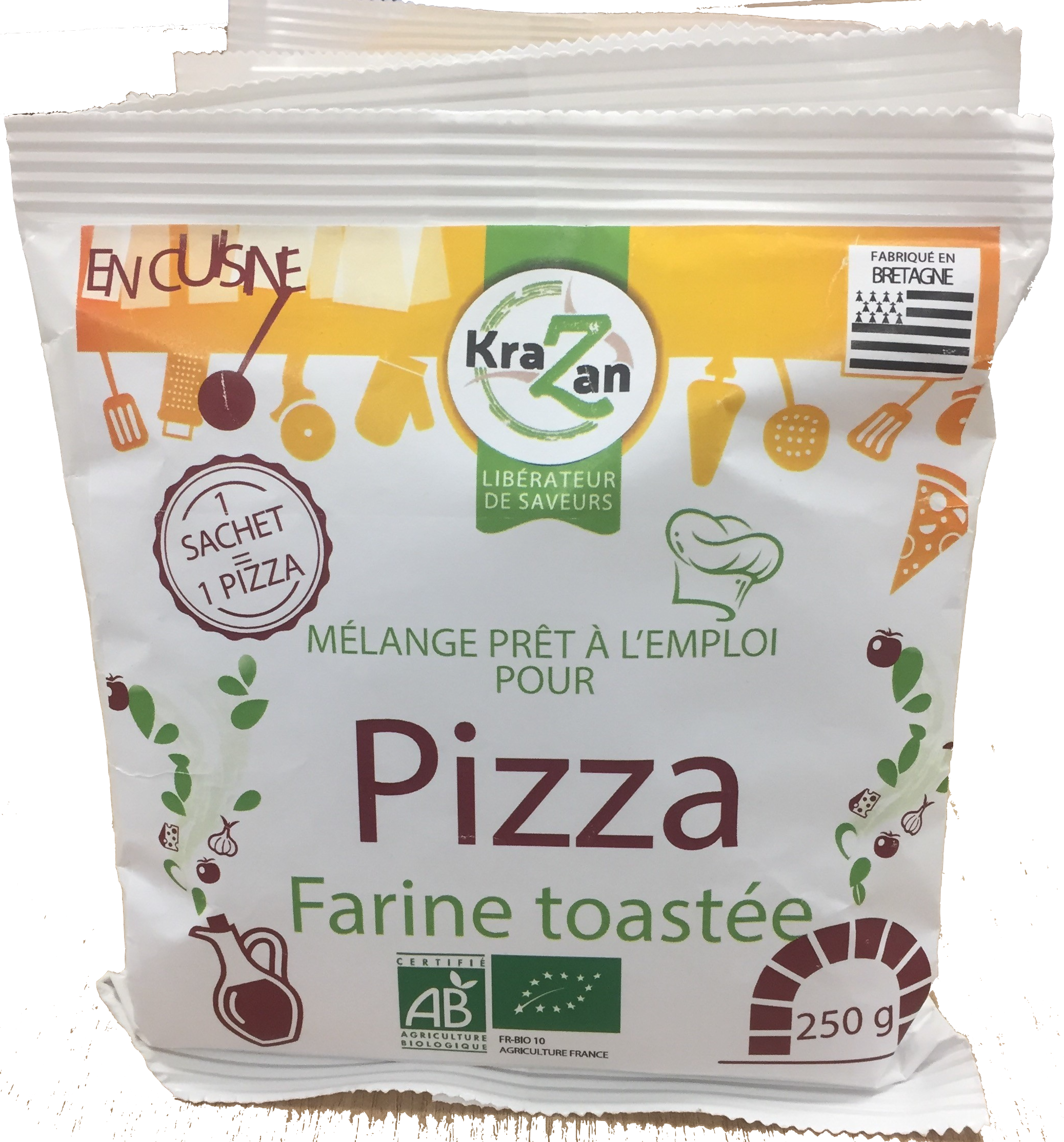 farine pizza krazan - Lauréats du concours ISOGONE, catégorie Usages & Consommation