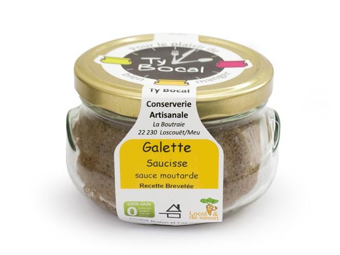 galette saucisse ty bocal - Lauréats du concours ISOGONE, catégorie Usages & Consommation