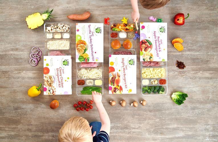 kids recipe kit - Des kits à cuisiner pour les enfants