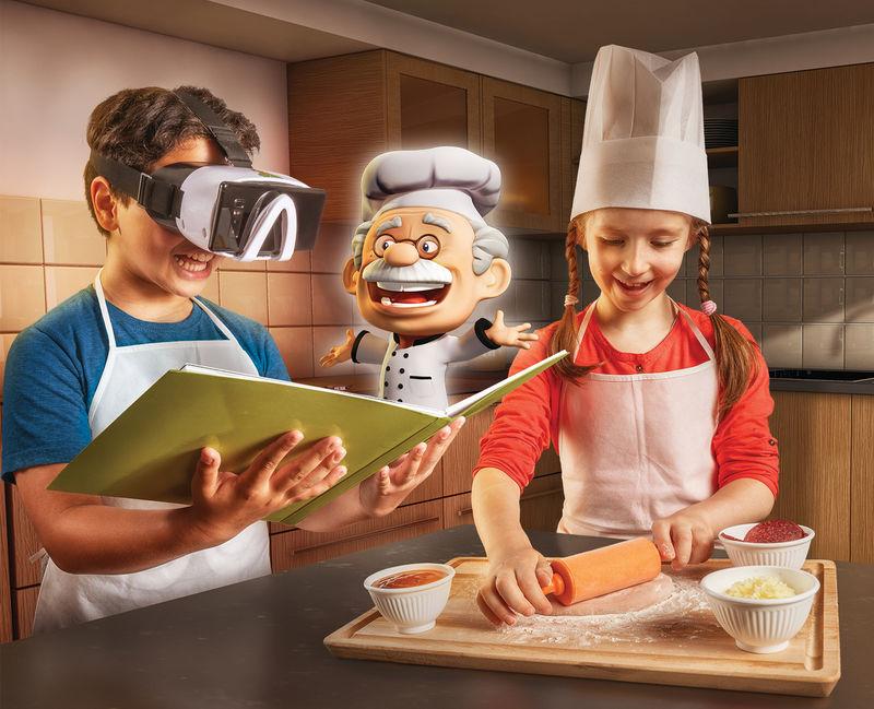 386153 1 800 - Des cours de cuisine en réalité virtuelle