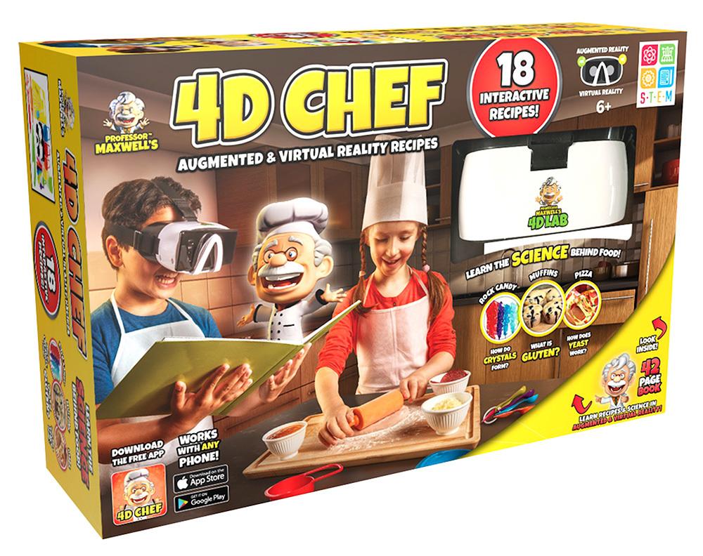 4D Chef 3D LO  64474.1533273950 - Des cours de cuisine en réalité virtuelle