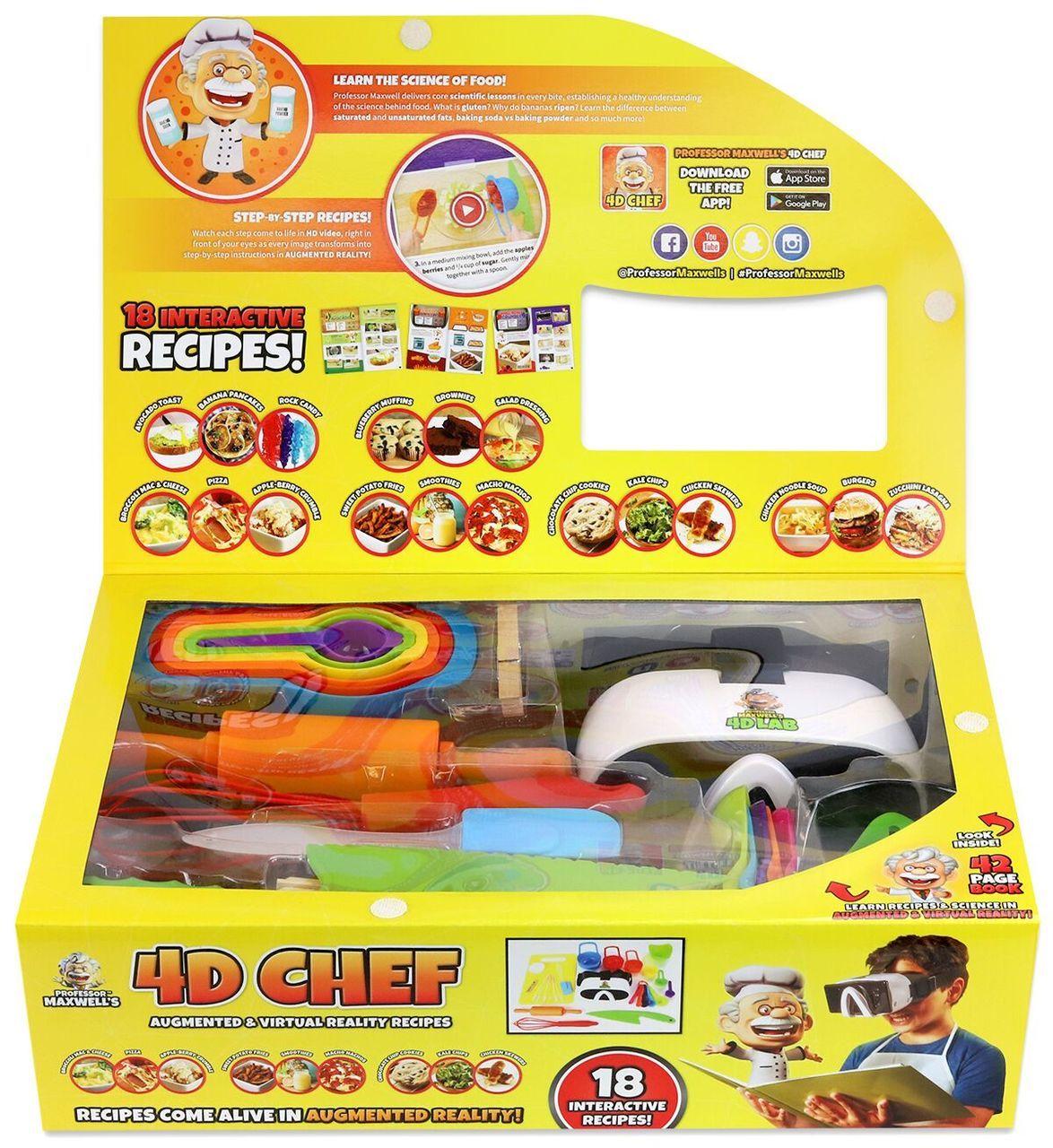 4D Chef Inside  65332.1533273953 - Des cours de cuisine en réalité virtuelle