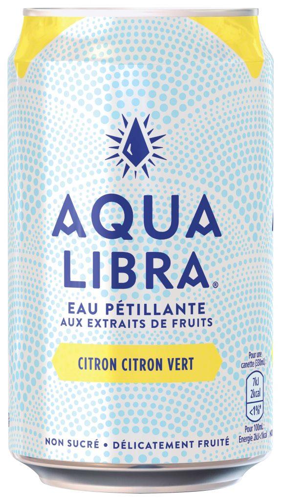 AquaLibra Citron  CitronVert 330ml  575x1024 - Aqua Libra, une eau pétillante fruitée sans sucre