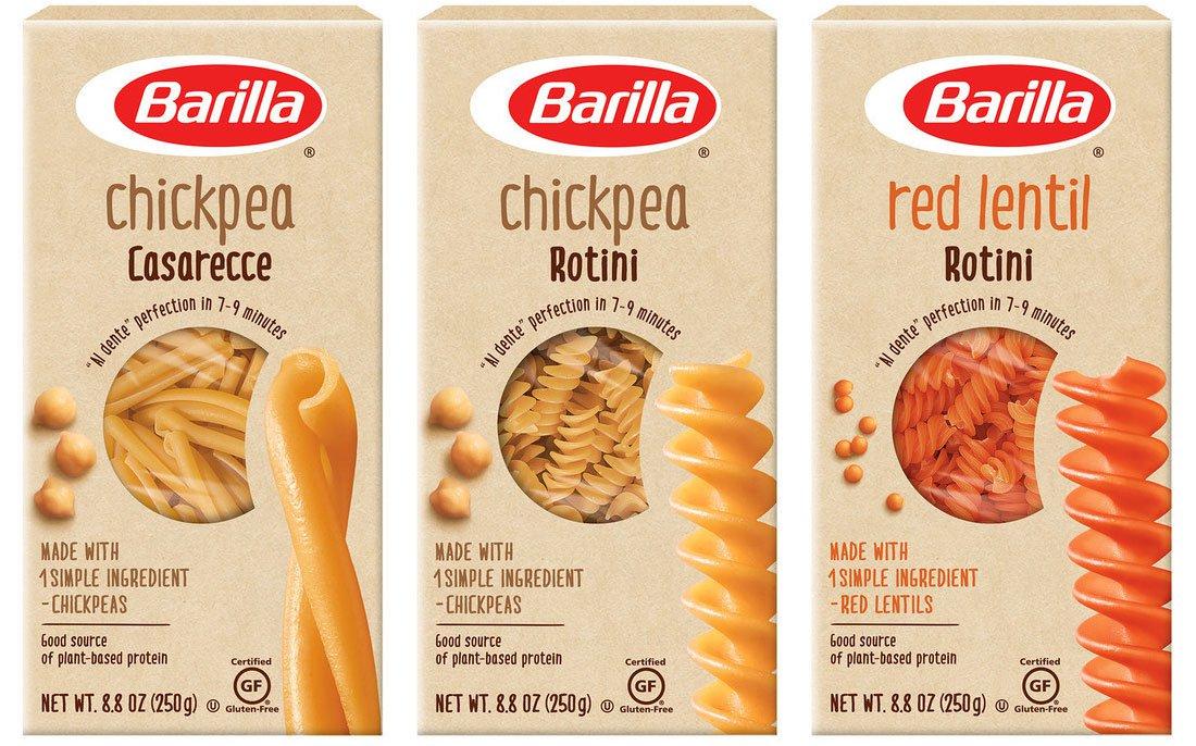 Barilla - Barilla se lance dans les pâtes aux légumineuses