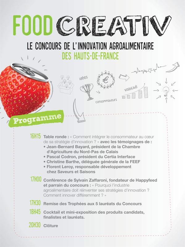 FoodCreativ00 - Les gagnants du concours d'innovations alimentaires FOOD CREATIV 2018