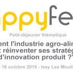 """Hapyfeed 150x150 - Petit-déjeuner : """"Comment l'industrie agro-alimentaire doit réinventer ses stratégies d'innovation produit ?"""""""