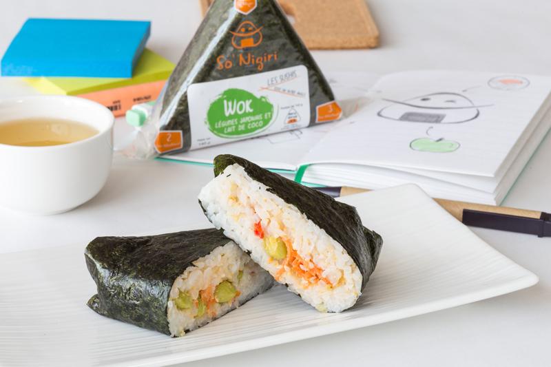 SoNigiri - Les gagnants du concours d'innovations alimentaires FOOD CREATIV 2018