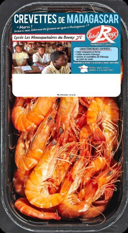 Unima crevettes Madagascar Label Rouge - Le Palmarès 2018 des Grés d'Or de la FEEF