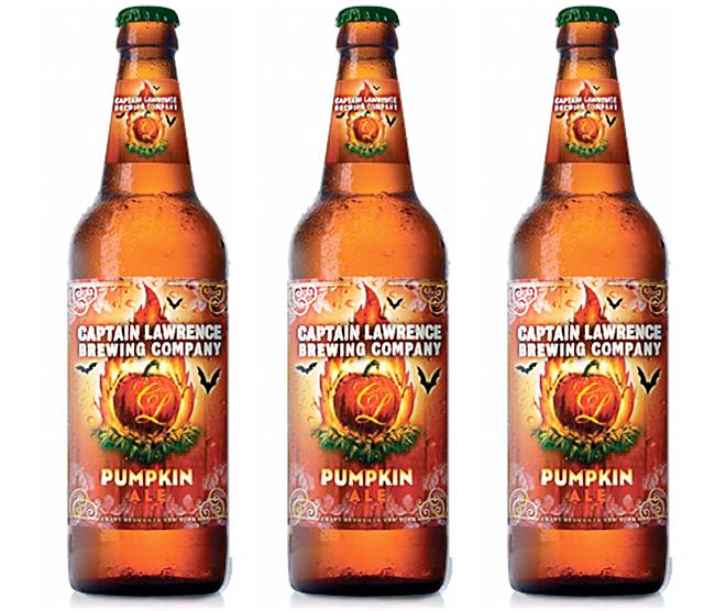 captain lawrence brewing company pumpkin ale - De la bière à la citrouille