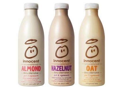 dairy free range - Innocent propose des laits végétaux en Angleterre