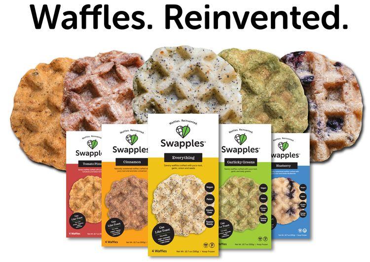 frozen waffles - Des gaufres à base de racines de Yukka